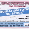 LIQUIDATION TOTALE DU STOCK /LES ROUSSES